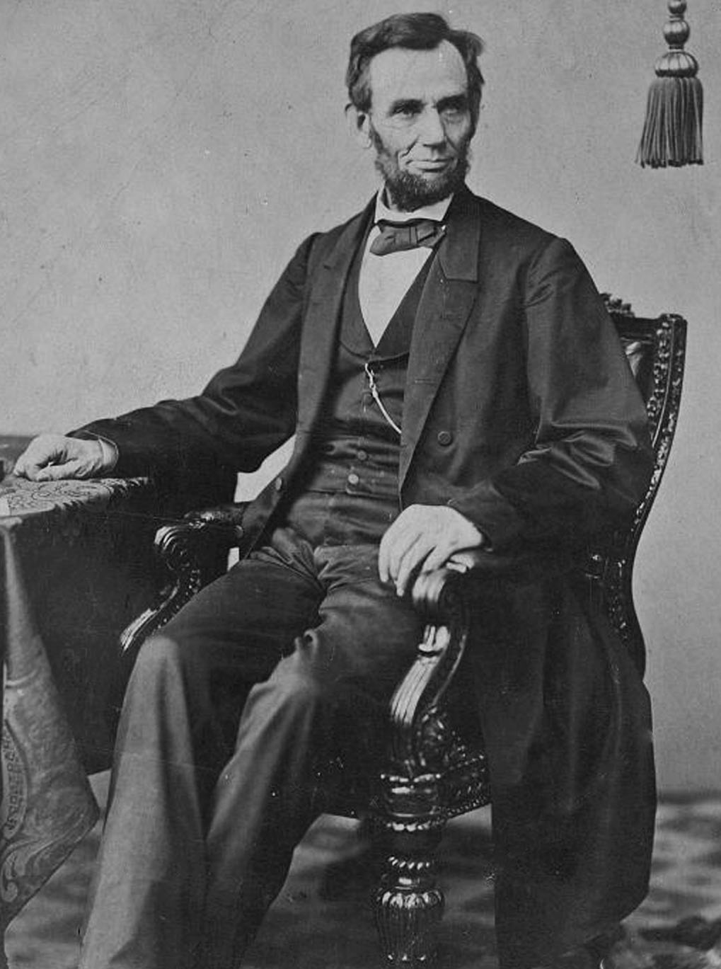Abraham Lincoln Standing Up In Color Wwwgalleryhipcom The Hippest Pics